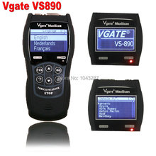 2016 VS890 OBD2 Code Universal VGATE VS890 Diagnostic Scanner Multi-language Auto Scantool Vgate MaxiScan VS890