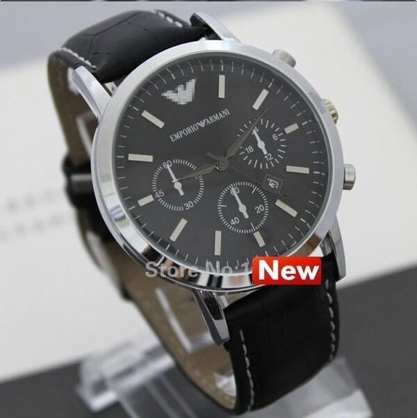 Top Brand Luxury Quartz Watch Relogio Masculino Men's Watches Fashion Genuine Leather Watches relogios masculinos reloj hombre