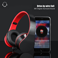 Brand New Headband Wired Headphone 3 5mm Stereo Casque Audio Noise Isolating Gaming Head Phones With