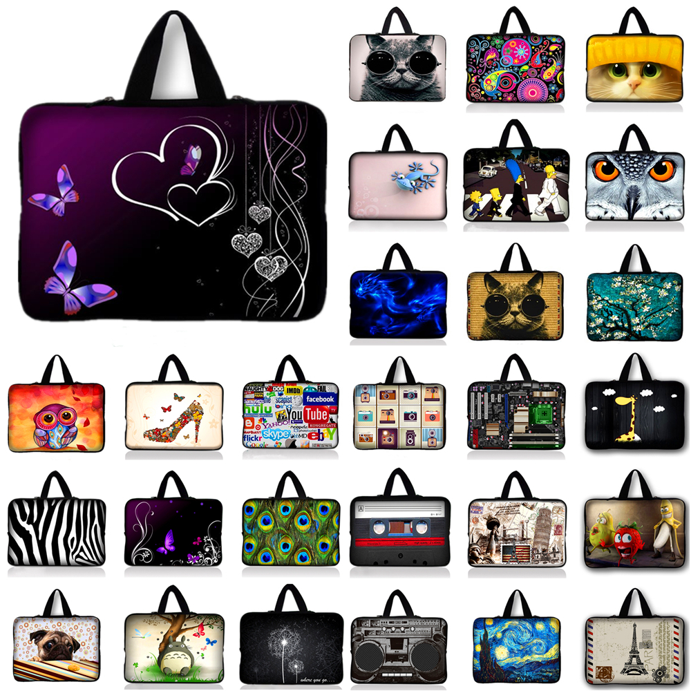 10.1 12 13 13.3 14 15.4 15.6 17.3 Laptop Notebook Computer PC Handle Sleeve Case Bag Cover Pouch Samsung Sony Lenovo Asus