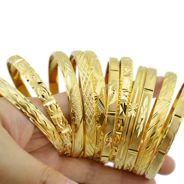Мода золотые ювелирные изделия 18 К золота браслеты для эфиопские браслет и браслеты ...