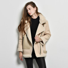 New 2015 jacket coat thicken winter coat women solid color fashion European style Zipper womens winter jackets and coats