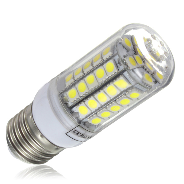 E27 LED Corn Bulbs SMD5050 220V 360 Deg. Lights Warm/Cool White 6W Replacement of 60W Halogen Lamps 3 years Warranty 10pcs/lot(China (Mainland))