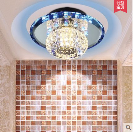 Newest ceiling lamp lustre Minimalist led aisle lights Ceiling Crystal LED ceiling living room ceiling for corridor porch hallwa