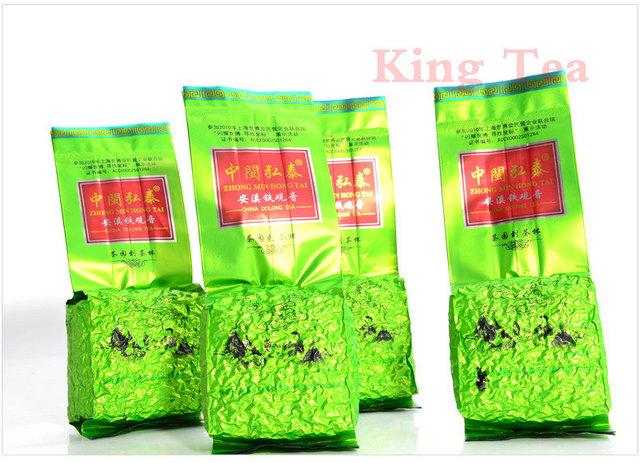 125g*4bags ZhongMinHongTai Chinese FuJian AnXi TiKuanYin TieGuanYin Orchid Fragrance(China (Mainland))