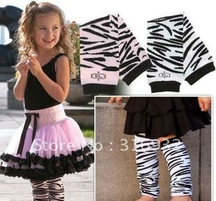 G3 New Arrival ! Zebra cotton Baby Leg Warmers, free shipping, 8pairs/lot