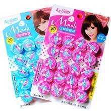 1 pack (20 pz) Facciale Compressa non tessuto Maschera di carta Sonore DIY Cura Della Pelle Naturale (B312)(China (Mainland))
