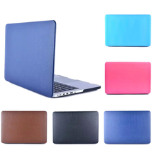 2015 New Genuine Leather sleeve For macbook Air 13 Pro Retina 13.3 15 laptop bag case fundas For  Apple Mac book 11 12 15.4 inch(China (Mainland))