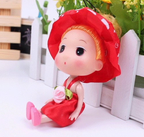 Free shipping (24pieces/lot) wholesale dolls wholesale baby toys fashion hat and skirt lovely baby toys online unique baby toys(China (Mainland))