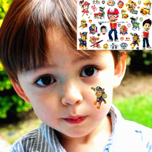The Dog Rescue Team Child Temporary Body Art Flash Tattoo Sticker 17*10cm Waterproof Tatoo Xmas Gift Tatto FREE SHIPPING