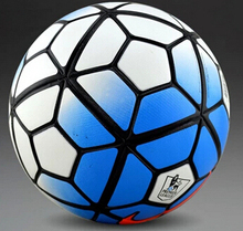 High Quality New 2015-2016 Premier League football ball PU granule slip-resistant football Size 5 seemless soccer ball(China (Mainland))