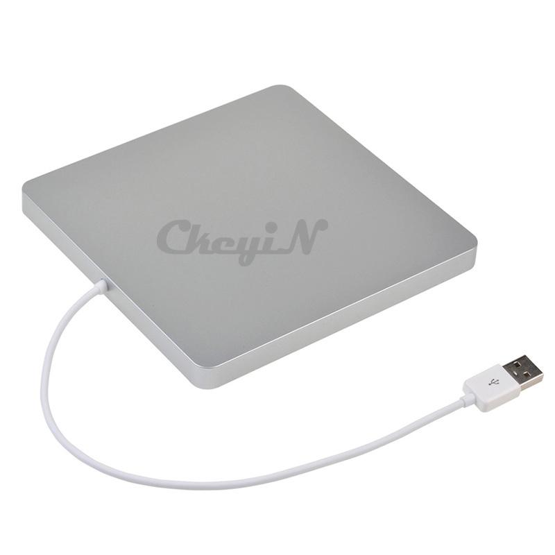High Speed External Slot in USB CD-RW DVD-RW Drive Player Writer Burner Case for Apple MacBook SHC07SQ-30C(China (Mainland))