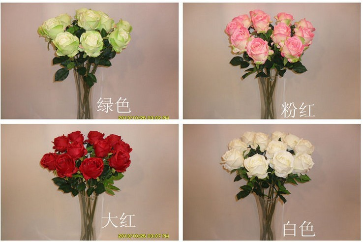 high quality artificial silk single head large UK rose flowers high 80cm wedding bouquet home docoration free shipping(China (Mainland))