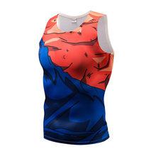 Новый 2019 жилет супер 3D футболки для девочек Аниме Драконий жемчуг Z для мужчин женщин суперсолдат Исайя Вегета ГОКу косплэй сжатия рубашк(China)
