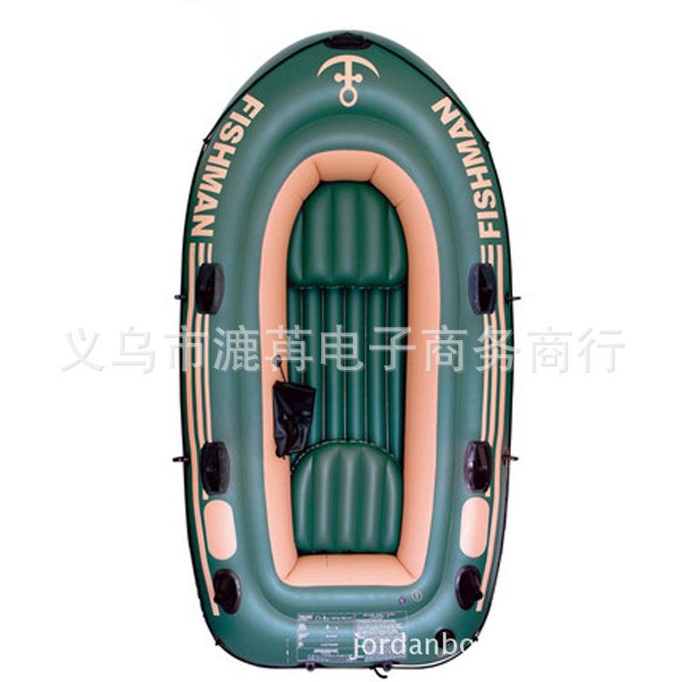Jilong 4 adulto inflável barco de pesca PVC ar barco de borracha caiaque 305 * 136 * 42 cm pesca de caiaque(China (Mainland))