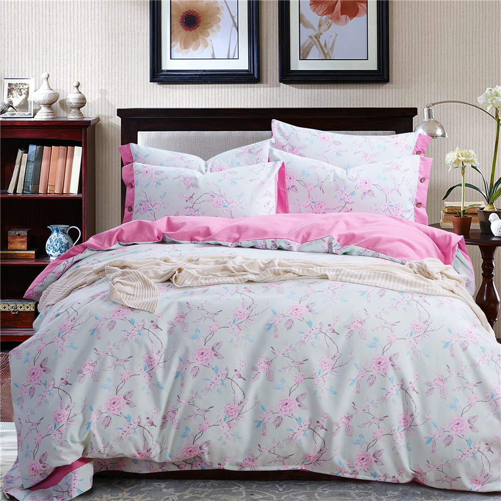 Fancy bedding quilts and comforters pink peony flowers for Bedding sets sale