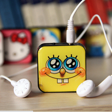 New 2015 mini Clip MP3 Player With Micro TF/SD Card Slot Music players Spider-Man Minions only mp3(China (Mainland))