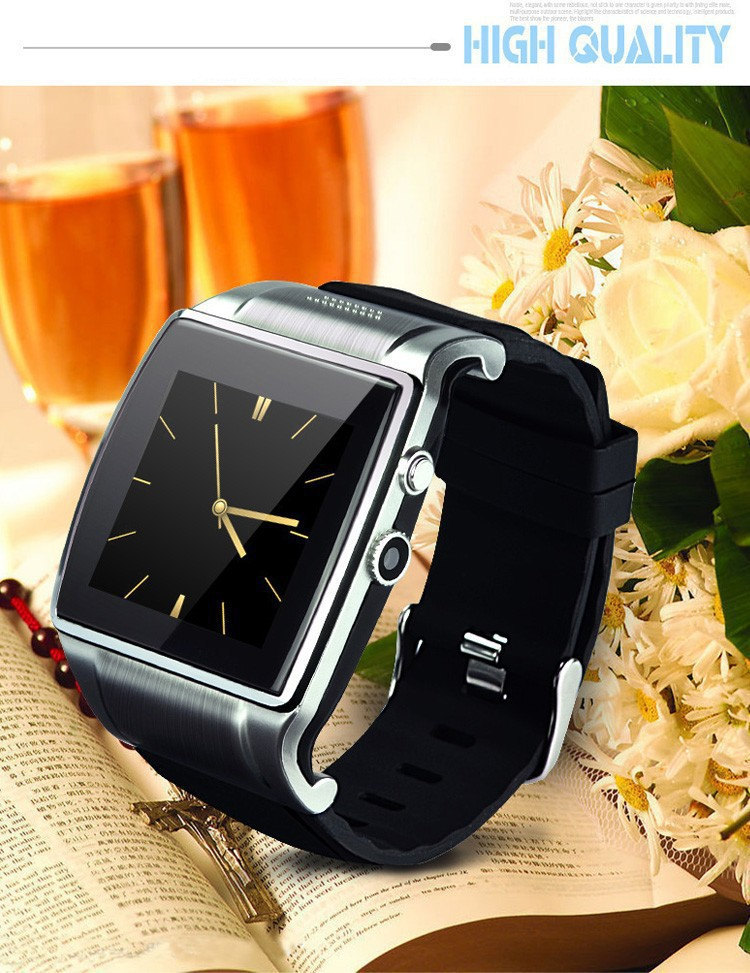 HI watch 2 Smart Bluetooth Watches 2.0MP Camera Wrist Life waterproof dialer mp3/4 FM Video Remote wristwatches Free shipping(China (Mainland))