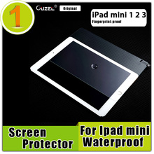 0.2mm Tempered Screen Glass For iPad Mini 1 2 3,9H Hardness Full film Transparent Protector,HD Fingerprint-Proof Arc 7.9 inch(China (Mainland))