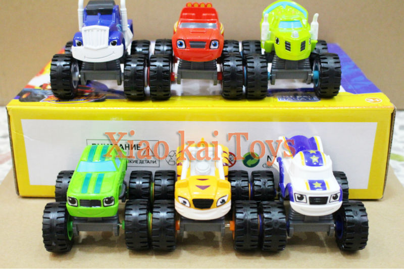 New 2016 Vehicle Car Blaze And The Monster Machines Toys Transformation Toys Action Figures Toy With Original Box Gifts For Kids(China (Mainland))