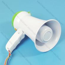Free shipping Mini Handheld Megaphone Bullhorn Loud Speaker Amplifier+(China (Mainland))