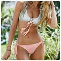 Plus Size Summer Style Women s Print Slim Sexy Bikini Push Up Padded Bodycon Set Swimsuit