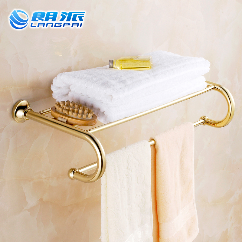 Bathroom towel rack sets