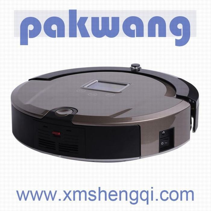 Multifunction Intelligent Robot Vacuum Cleaner with Sweep Vacuum Mop Sterilize LCD Touch ,(China (Mainland))