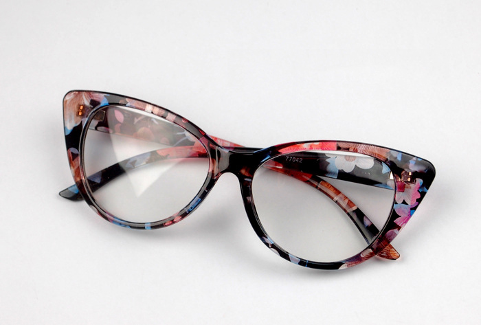 10 Colors Ladies Women Vintage Cat Eye Design Full Rim Clear Lens Eyeglass Frame Eyewear Spectacles Fashion Glasses Prescription
