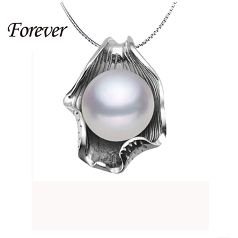 Гаджет  Promotion New Fashion Elegant Women 18KG Plated Lovely Girls 925 Silver Pearl Pendant Perfect Freshwater Pearl Jewelry Necklaces None Ювелирные изделия и часы