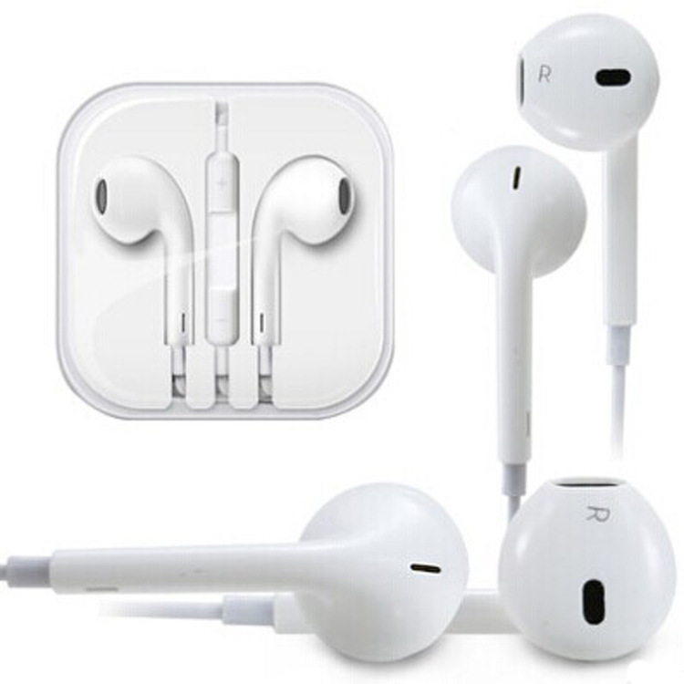 10pcs/lot NEW In-Ear Headset Earphone Headphones for Apple iPhone 4s 5 5s 5c free shipping(China (Mainland))