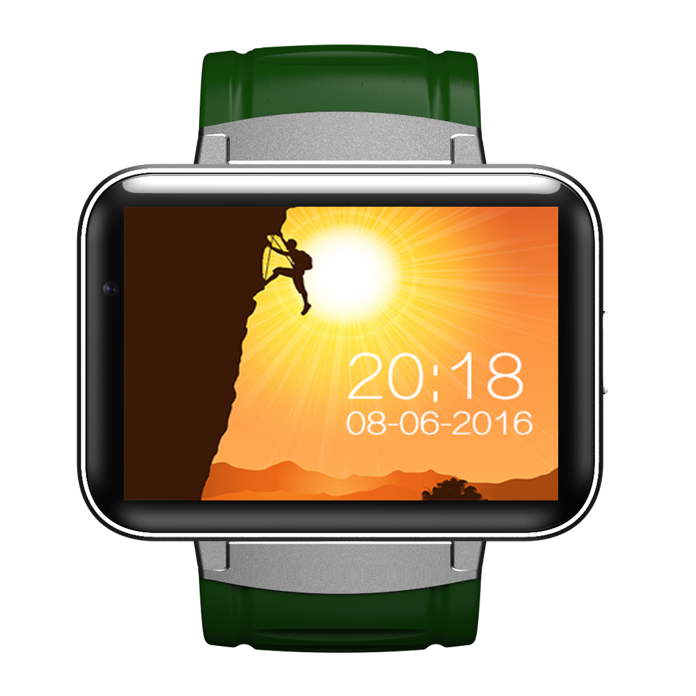 """DM98 Smart watch phone MTK6572 2.2"""" HD Video Call Smartwatch Supports Android 4.4 OS SIM Card 3G WCDMA GPS Wifi Whatsapp Skype(China (Mainland))"""