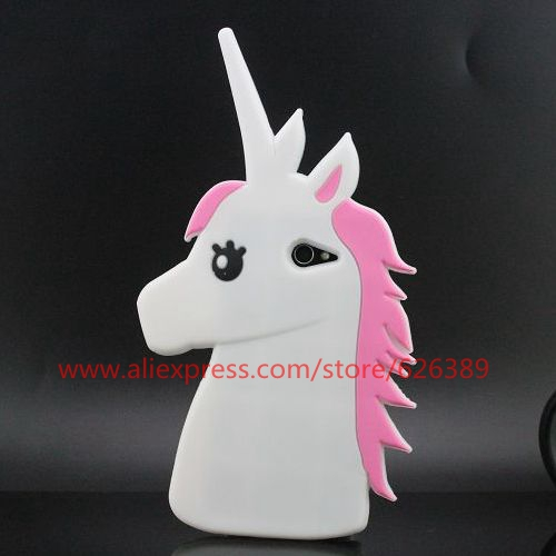 For Sony Xperia M2 S50h 3D Unicorn Silicone Soft Rubber Mobile Phone Cover Case(China (Mainland))