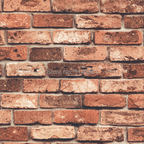 Buy decorative vinyl brick wallpaper 3d for 3d brick wall covering