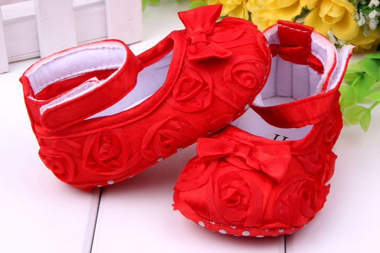 Baby pre-walker shoes infant baby girl prewalker flower soft sole shoes Little Spring Free Dropshipping(China (Mainland))
