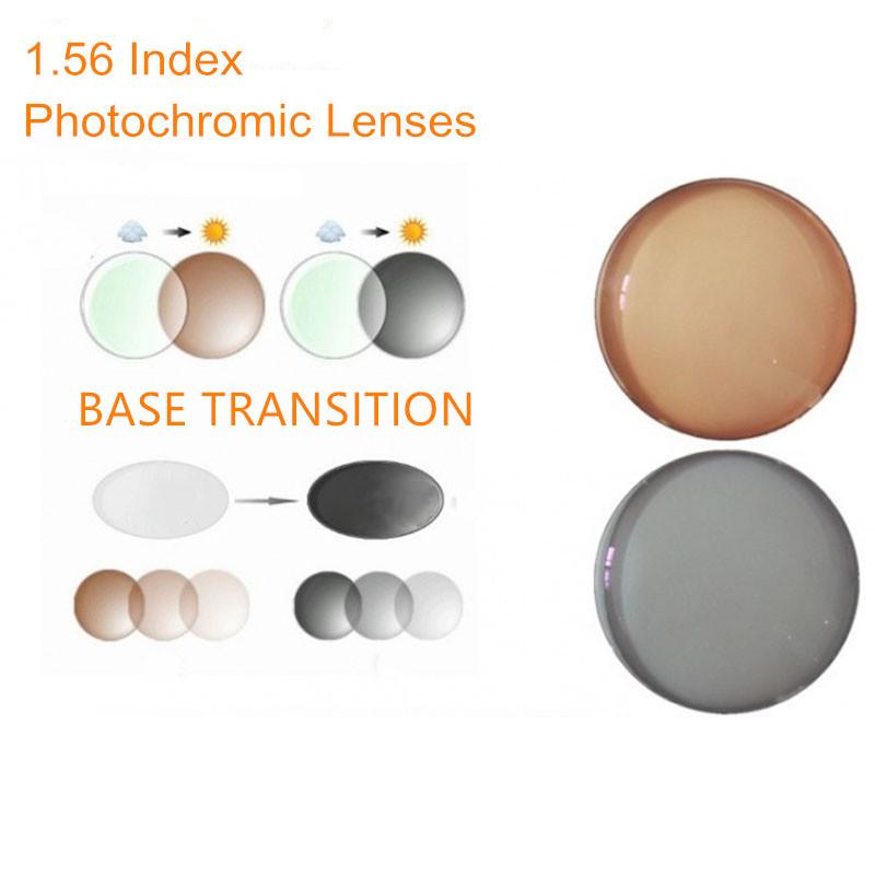 1.56 Index Prescription Photochromic Lenses Transition ...