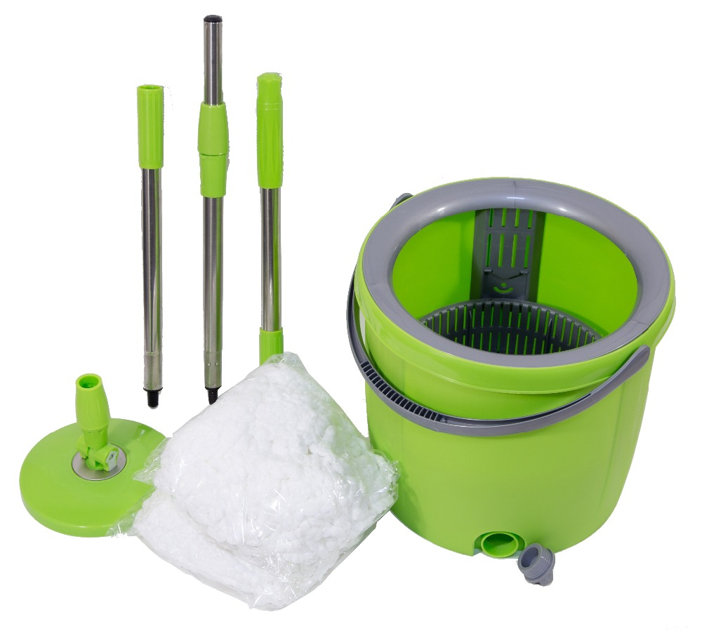 Mop with bucket 2 mopheads cheap and high quality for Where to buy cheap household items