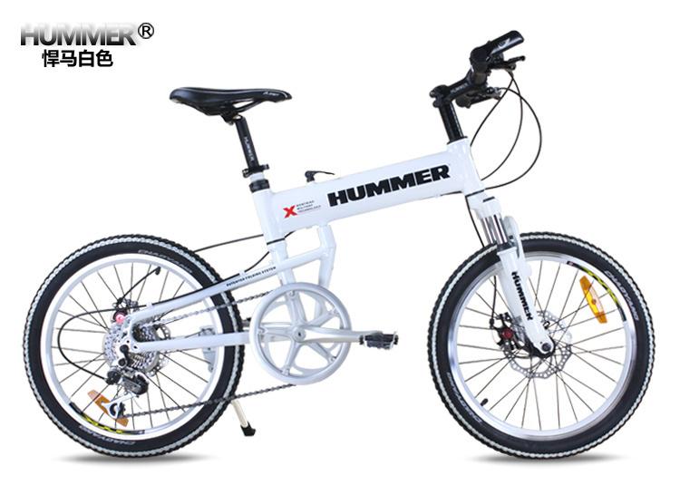 自転車の ハマー 自転車 折りたたみ 評価 : 20 Inch Folding Mountain Bike