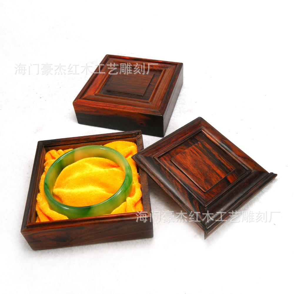 Mahogany red wood jewelry box square box Rosewood box manufacturers, wholesale cheap<br><br>Aliexpress