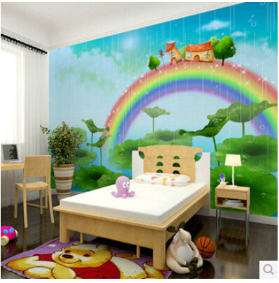 wallpaper mural male girl children s room wallpaper cartoon murals of. Black Bedroom Furniture Sets. Home Design Ideas