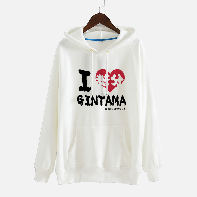 Gintama Silver Soul Hoodie New Japan Anime Cosplay Coat Autumn Winter Fashion Men Hoody Sweatshirt