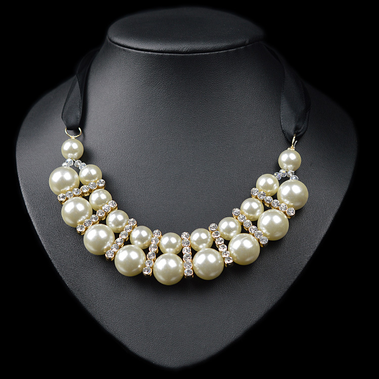 Колье-ошейник Pearl Pendant Necklaces ywnz2015/1 2 YWNZ2015-1