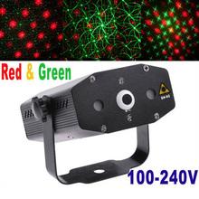 Mini proyector rojo y verde láser de luz luz de la etapa DJ etapa de iluminación del Club Disco Party Light Moving venta al por mayor(China (Mainland))