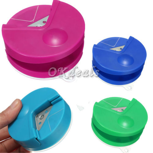 High Quality R4 Corner Rounder 4mm Paper Punch Card Photo Cutter Tool Craft Scrapbooking(China (Mainland))