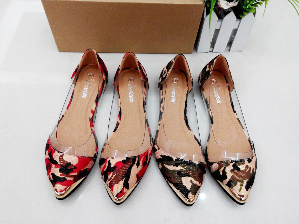 5 colors new brand 2015 Fashion low heel flat shoes women ballet flats and womens spring summer autumn shoes Plus size 34~42<br><br>Aliexpress