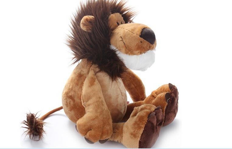 LION Plush stuffed animal toy 25cm adorable soft plush doll 1pc free ship(China (Mainland))