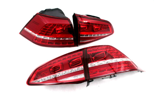 OEM LED Tail Light Set For Volkswagen Golf MK7(China (Mainland))