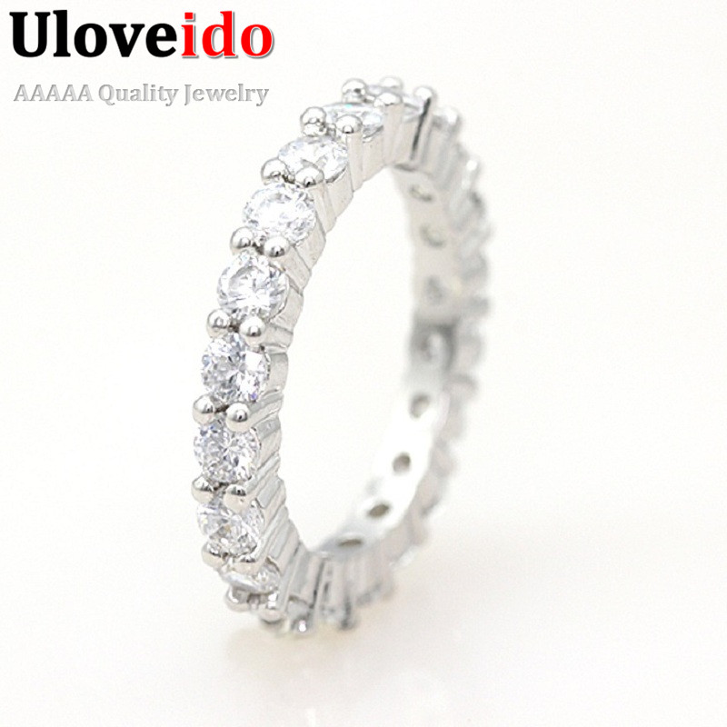 50% off Eternity,Wedding Band,Fashion Jewelry Womens Accessories Engagement Zirconia Simulated Diamonds Ring Set Share Y041