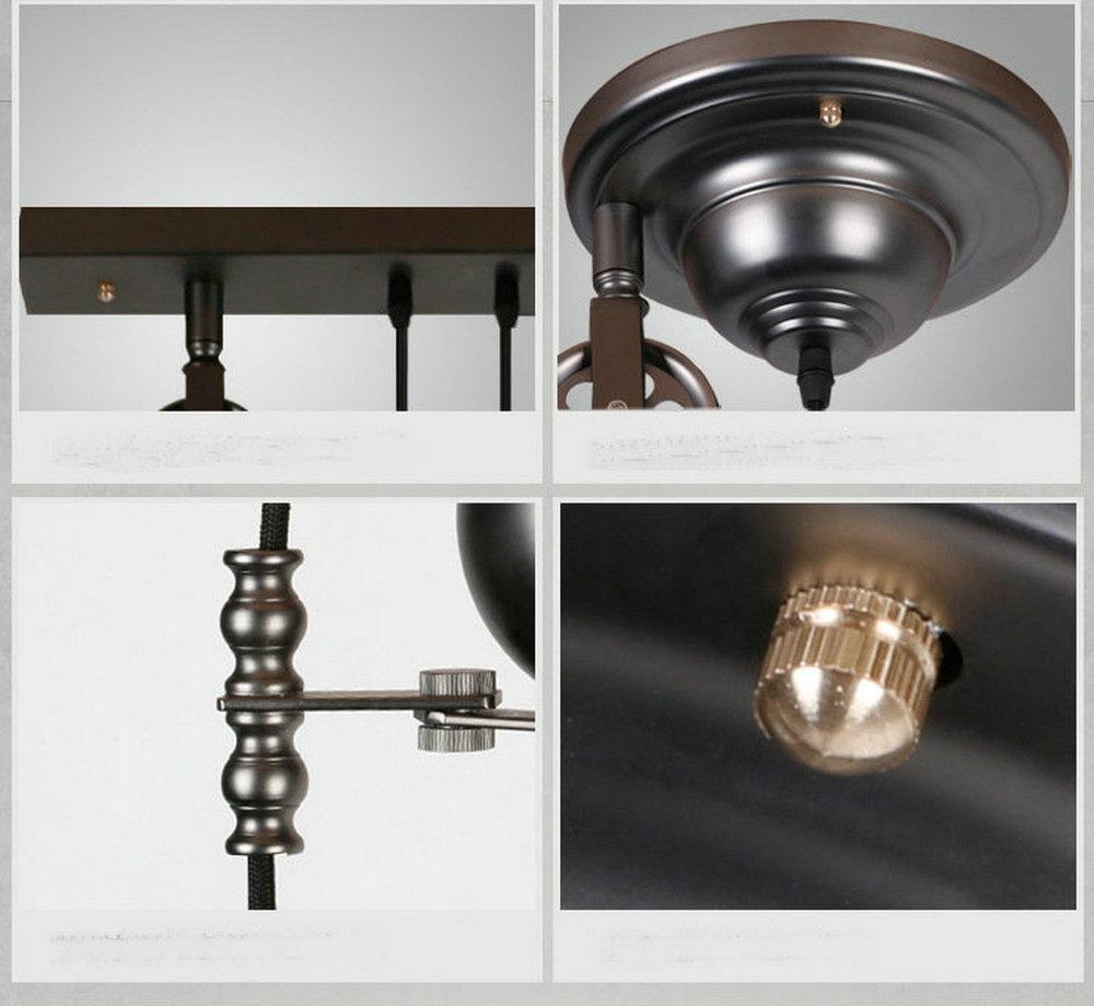 Tiarch.com  Lampadario Industriale Vintage
