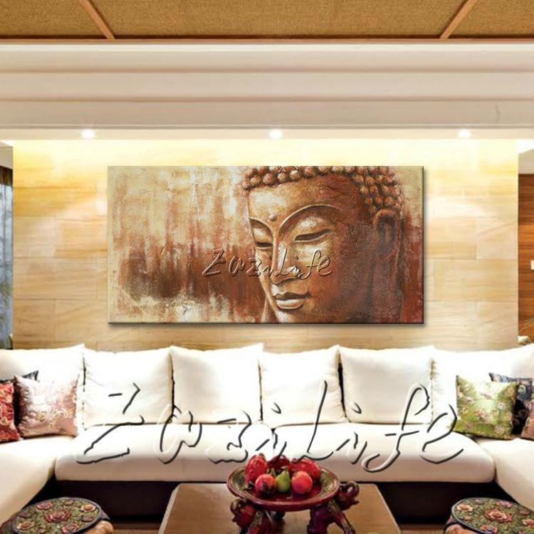 Online kopen wholesale zen schilderen uit china zen schilderen groothandel - Eigentijdse muur ...